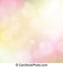 abstrakt, vektor, mjuk, färgad fond