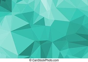 abstrakt, vektor, polygon, hintergrund