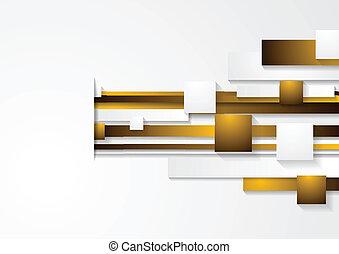 abstrakt, vektor, teknologisk., baggrund