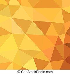abstrakt, vektor, triangel, geometrisk, bakgrund