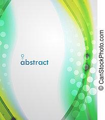 abstrakt, verwischen, welle, vektor, hintergrund