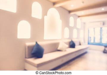 Abstrakt, Verwischen, Wohnzimmer, Inneneinrichtung, Für, Hintergrund