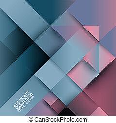 abstrakt, verzerrung, von, pfeil, form, hintergrund, -,...