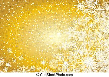 abstrakt, vinter, jul, bakgrund