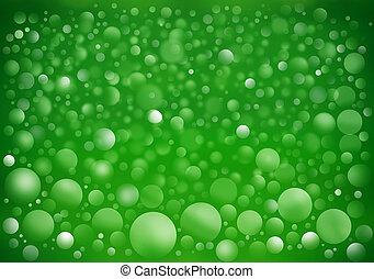 abstrakt, von, grüner hintergrund