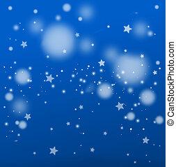 abstrakt, weihnachten, hintergrund, schnee, design