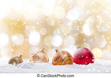 abstrakt, weihnachten, hintergrund