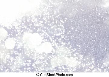 abstrakt, weihnachten, hintergrund, von, feiertag, lichter