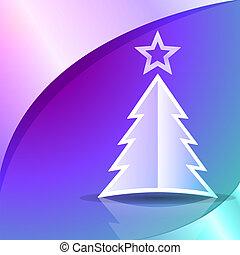 abstrakt, weihnachtsbaum