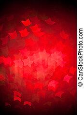 abstrakt, weihnachtsbeleuchtung, hintergrund