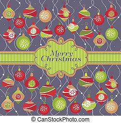 abstrakt, weihnachtskarte