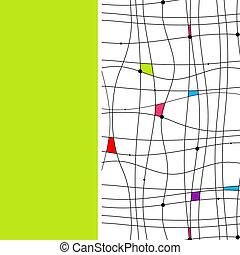 abstraktes design, dein, hintergrund