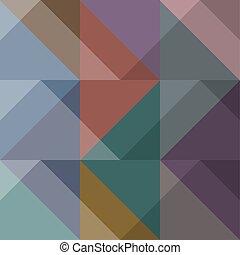 abstraktes design, geometrisch, hintergrund