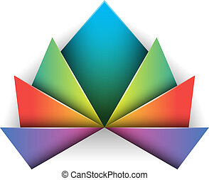 abstraktes design, symbol