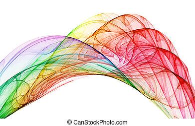 abstraktion, mehrfarbig