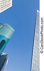 abstraktion, sky, arkitektonisk