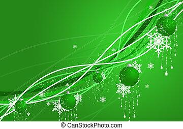 abstraktion, weihnachten