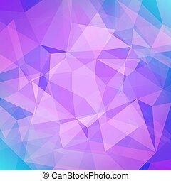 abstraktní, čtverec, trojúhelník, grafické pozadí.
