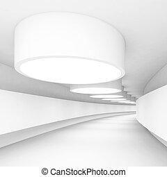 abstraktní, architektura, konstrukce