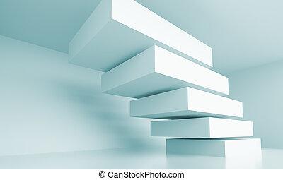 abstraktní, architektura