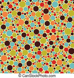 abstraktní, barvitý, model, grafické pozadí