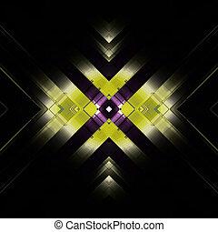 abstraktní, cíl, mocný, grafické pozadí