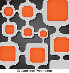 abstraktní, grafické pozadí., šablona, jako, jeden, text