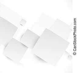 abstraktní, grafické pozadí, s, čtverhran