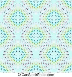 abstraktní, grafické pozadí, s, barvitý, duha, čtverec, shapes.