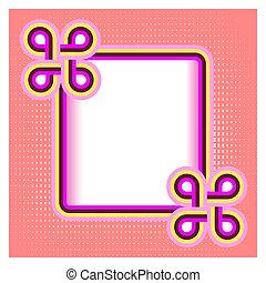 abstraktní, grafické pozadí, s, ta, barva advokacie, a, jeden, bydliště, jako, text