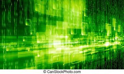 abstraktní, grafické pozadí, technologický