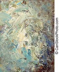 abstraktní, namalovaný, tkanivo