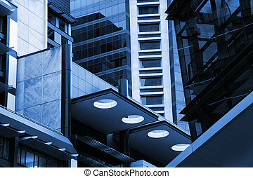 abstraktní, novodobý stavebnictví