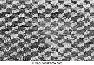 abstraktní, pokrýt dladicemi, grafické pozadí