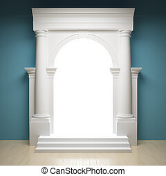 abstraktní, portál
