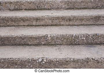 abstraktní, schody, a, štafle, do, ta, city.