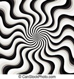 abstraktní, spirála, grafické pozadí