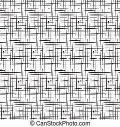abstraktní, technika, vektor, seamless