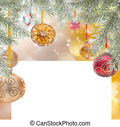 abstraktní, vánoce, grafické pozadí
