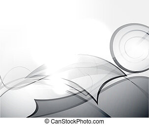 abstraktní, vektor, grafické pozadí