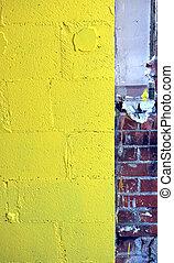 abstraktní, wall.