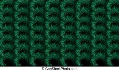 abstratct rotation green pattern,us