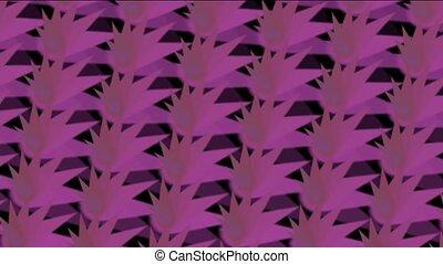abstratct rotation purple pattern