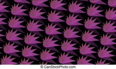 abstratct rotation purple pattern,s