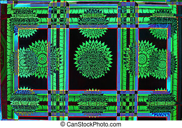 abstrato verde
