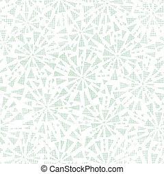 abstrato verde, triângulos, têxtil, textura, seamless, padrão, fundo