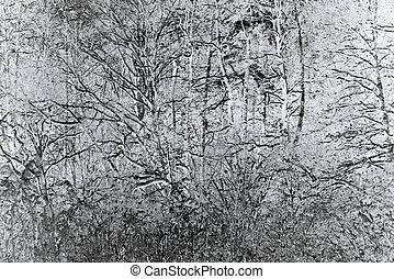 abstratos, árvore, fundo