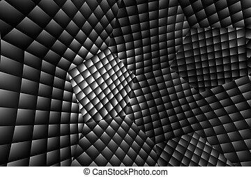 abstratos, 3d, ilusão, fundo, efeito