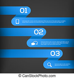 abstratos, 3d, infographics