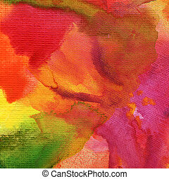 abstratos, aquarela, pintado, fundo